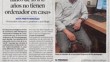 Entrevista del Heraldo de Aragón